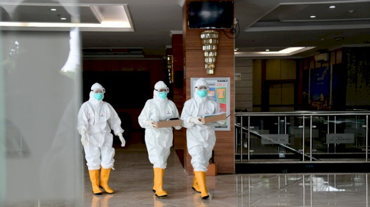 Kasus Aktif Covid-19 di Bandung Tinggal 688 Orang