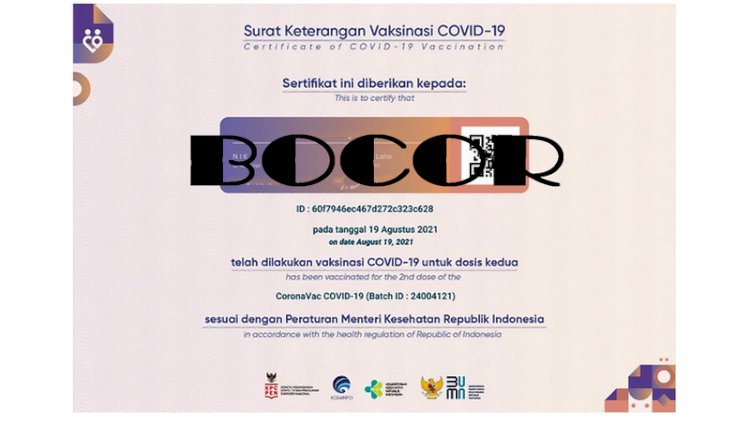 Kominfo Tanggapi soal Sertifikat Vaksin Jokowi Bocor