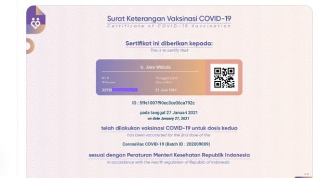 Kominfo Klaim Sumber Bocornya NIK Presiden Jokowi Bukan dari PeduliLindungi