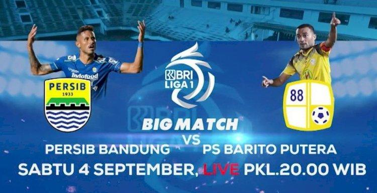 Prediksi Susunan Pemain Persib Bandung VS Barito Putera di Liga 1 2021