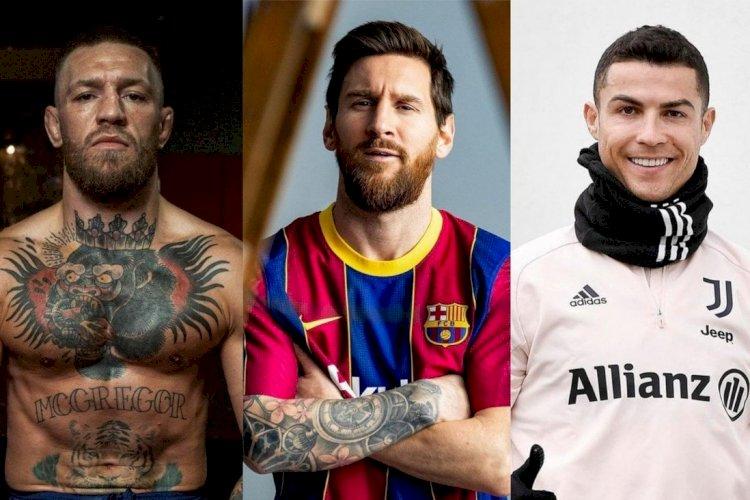 McGregor Atlet Berpenghasilan Terbanyak di Dunia,  Kalahkan Messi dan Ronaldo