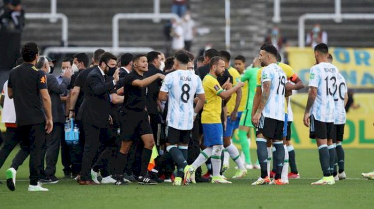 Kronologi Laga Kualifikasi Piala Dunia Brasil Vs Argentina Secara Mendadak Dihentikan