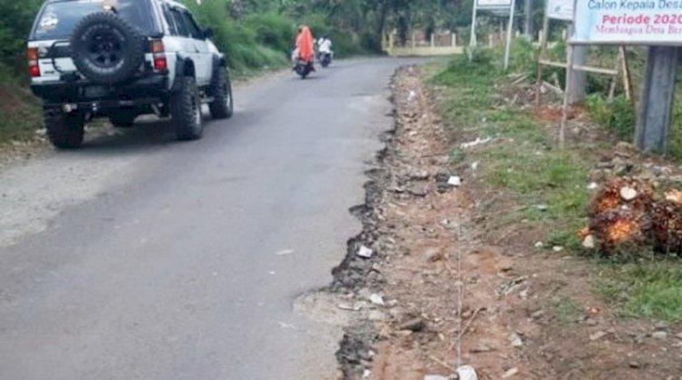 DPRD Targetkan Pembangunan Jalan di Cigudeg dan Sukajaya Terealisasi