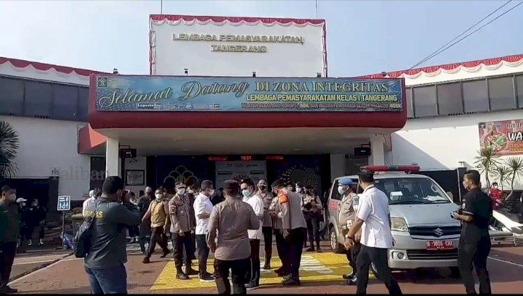 Yasonna Akui Lapas Tangerang Over Kapasitas Hingga 400 Persen