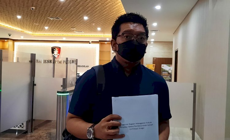 ICW Laporkan Wakil Ketua KPK Lili Pintauli ke Bareskrim Polri