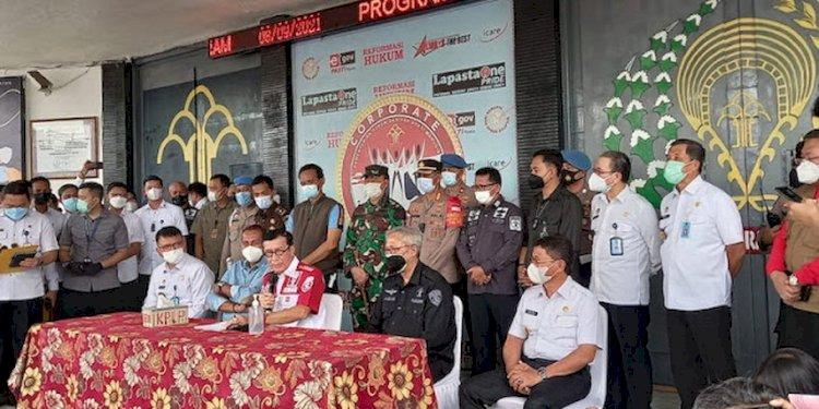 Dua WNA Kasus Narkoba Tewas dalam Kebakaran di Lapas Kelas I Tangerang