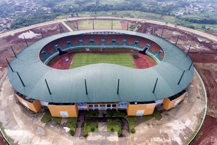 10 Lapangan Bola Standar Internasional Bakal Dibangun di Kabupaten Bogor