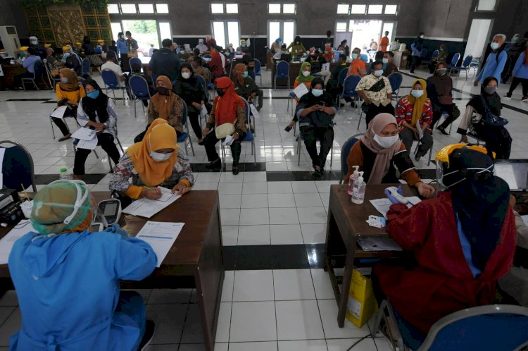 39,7 Juta Masyarakat Indonesia Telah Terima Dosis Kedua Vaksin Covid-19