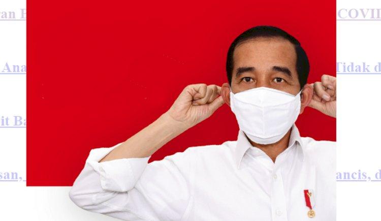 Situasi Pandemi Membaik, Presiden Ingatkan Jangan Euforia