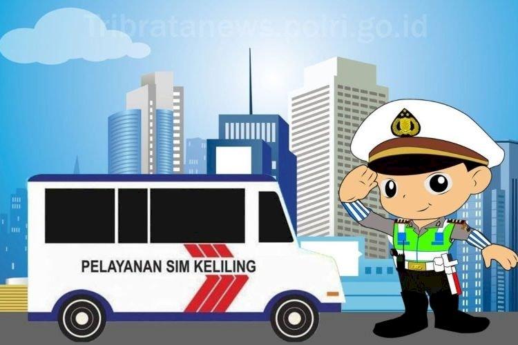 Layanan  SIM Keliling Kota Bandung 9 September 2021
