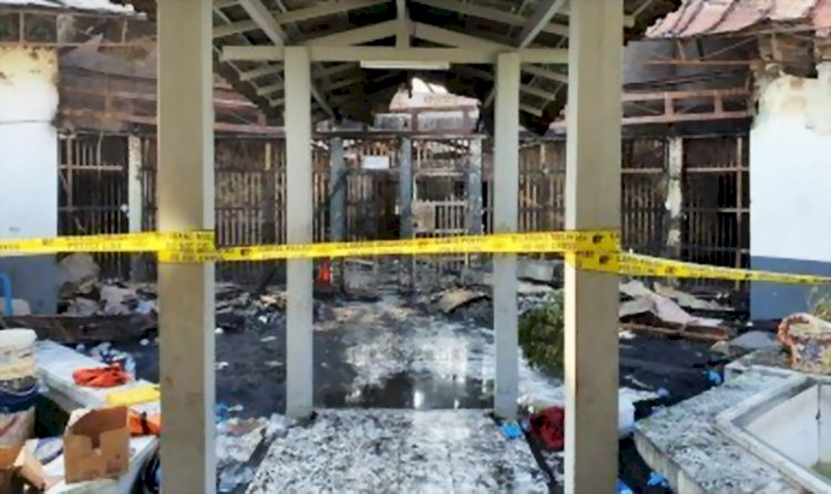 Diduga Ada Unsur Pidana Dalam Kebakaran Lapas Tangerang