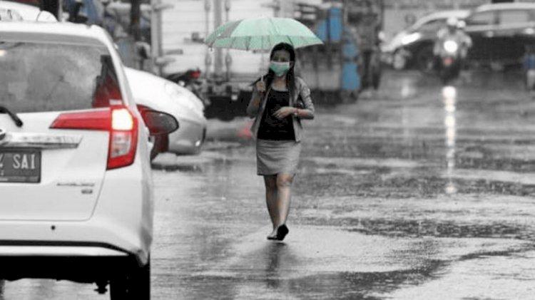 Sejumlah Wilayah Indonesia Berpotensi Dilanda Hujan Lebat