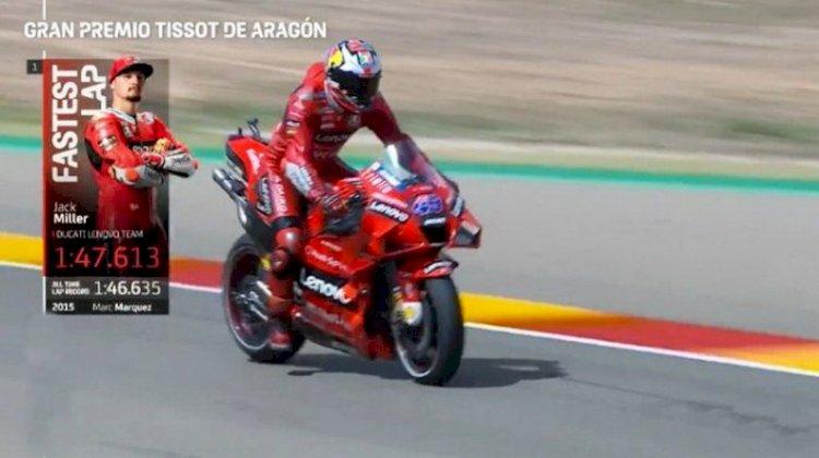 Hasil FP 2 MotoGP Aragon: Jack Miller Tercepat
