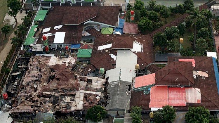 Polri Sebut Akan Ada Tersangka dalam Kasus Kebakaran Lapas Kelas I Tangerang