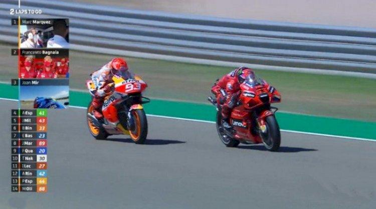 Klasemen Sementara MotoGP: Juara di Aragon, Bagnaia Naik ke Urutan Kedua