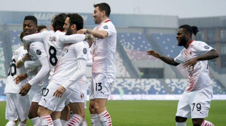 Hasil dan Klasemen Liga Italia: Milan dan Roma Menang, Inter Imbang