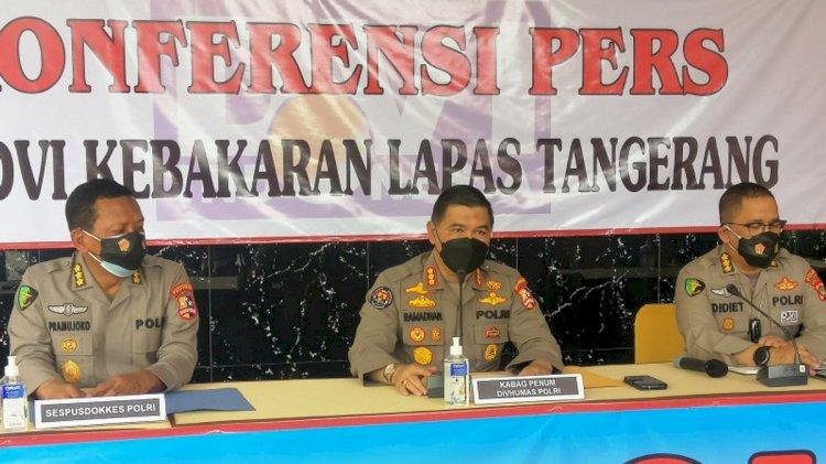 Usut Kasus Kebakaran di Lapas Klas I Tangerang, Polda Metro Periksa Kalapas Hari Ini