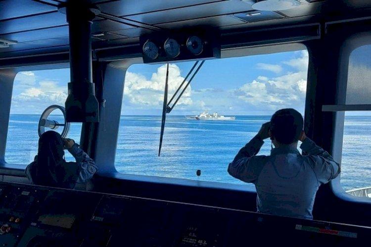Ungkap Keadaan Perairan Natuna, Bakamla Sebut Kapal China Ganggu Aktivitas Tambang RI
