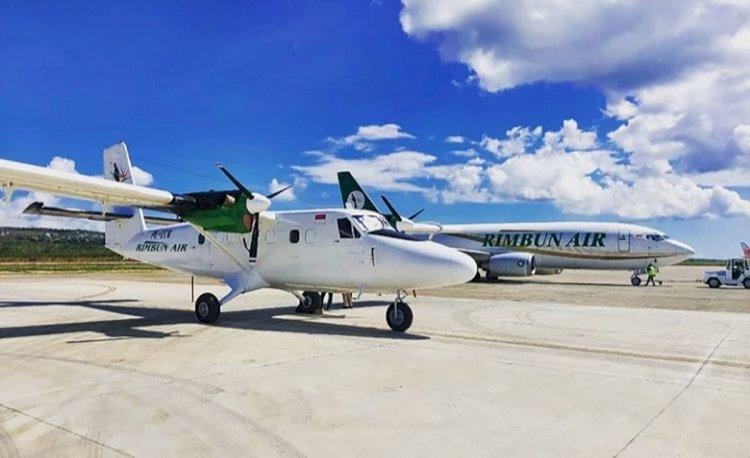 3 Awak Pesawat Kargo Rimbun Air yang Jatuh di Intan Jaya Papua Ditemukan Tewas