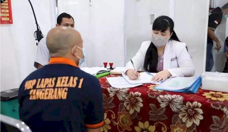 Pasca Kebakaran, Puluhan Napi Lapas Kelas I Tangerang Jalani Trauma Healing