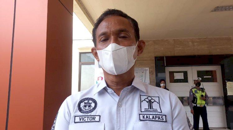 Kalapas Kelas I Tangerang, Victor Teguh Prihantono Dinonaktifkan