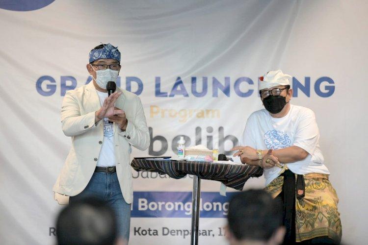 Turut Hadiri Acara di Bali, Ridwan Kamil Bantah Lakukan Safari Politik Menuju Pilpres 2024