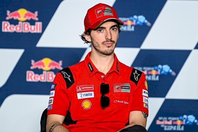 Francesco Bagnaia Tercepat di FP3 GP San Marino