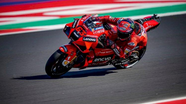 Bagnaia Perkasa Juarai MotoGP San Marino