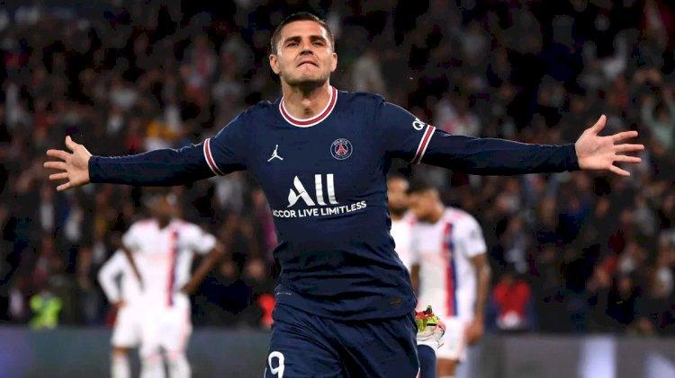 Menang atas Lyon, PSG Kuasai Puncak Klasemen
