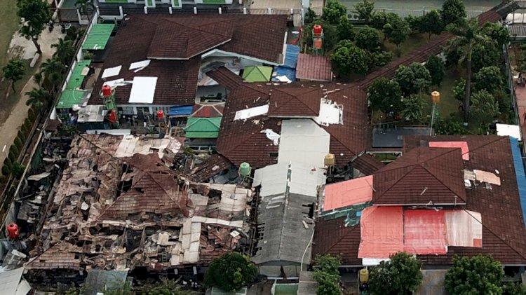 Polisi Tetapkan Tiga Tersangka Kasus Kebakaran Lapas Kelas I Tangerang