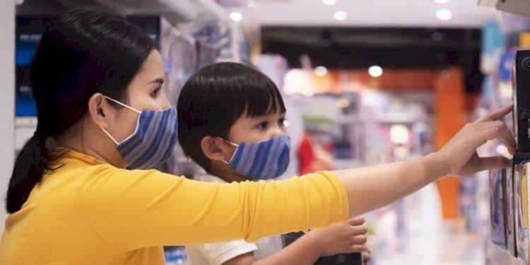Penyesuaian saat PPKM: Uji Coba Anak Boleh Masuk Mal di Bandung