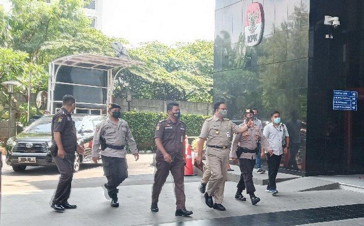Kasus Pengadaan Lahan di Munjul, Anies Penuhi Panggilan KPK