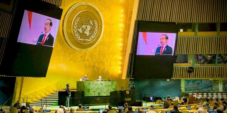 Pidato di Sidang Majelis Umum PBB, Jokowi Serukan Perdamaian dalam Keragaman