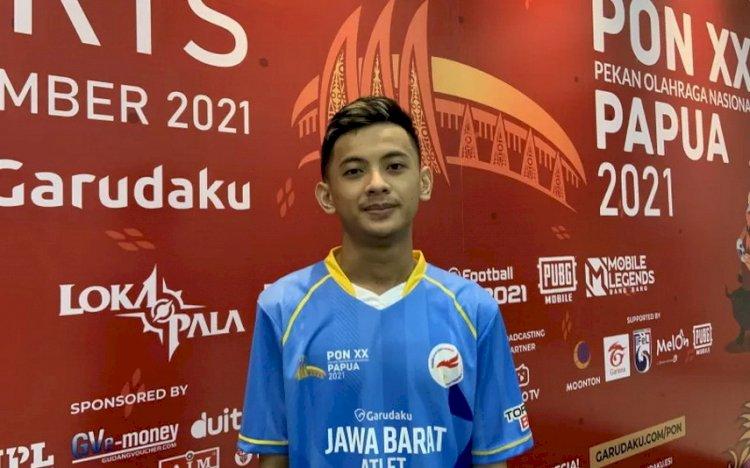 Rizky Faidan Bawa Jabar ke Grand Final eFootball PES PON Papua
