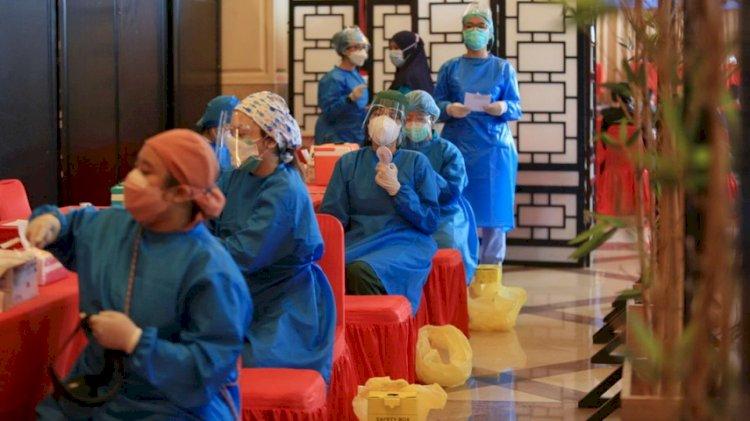129 Juta Vaksin Covid-19 Disuntikkan, RI di Peringkat Keenam Global