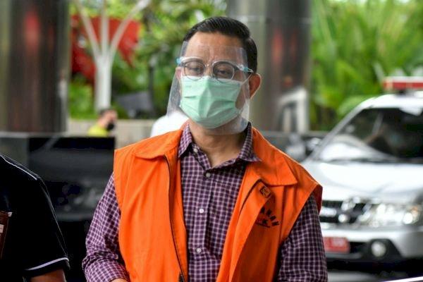 KPK Setor Rp500 Juta dari Uang Denda Juliari Batubara ke Kas Negara