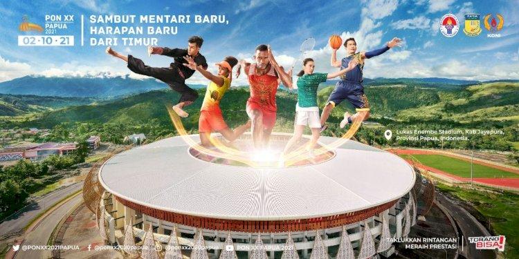 Laga Perdana Cabor Sepakbola PON XX Papua 2021, Jabar VS Papua Digelar Senin Pekan Depan