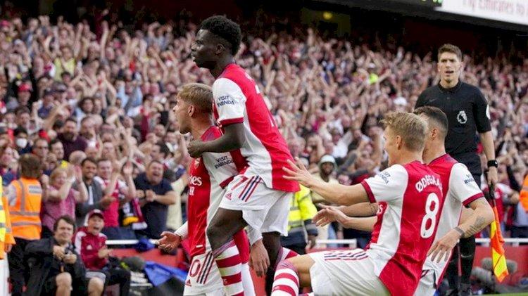 Arsenal Raih Kemenangan Ketiga Beruntun, Kalahkan Tottenham 3-1