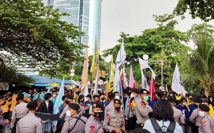 Polisi Pastikan Keamanan Demo BEM SI di Depan Gedung KPK