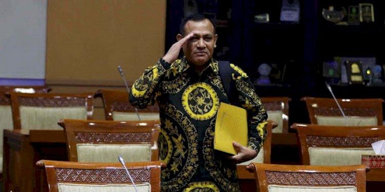 Digeruduk Massa BEM SI, Kemanakah Ketua KPK Firli Bahuri?