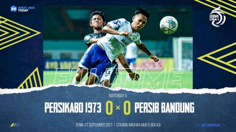Mandul Lagi, Persib Bandung Ditahan Imbang Tira-Persikabo