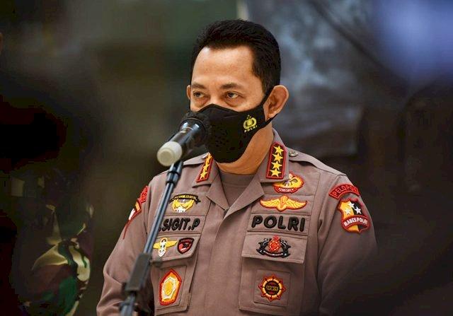 Kapolri Bersurat ke Jokowi,Rekrut 56 Pegawai KPK Tak Lulus TWK jadi ASN Polri