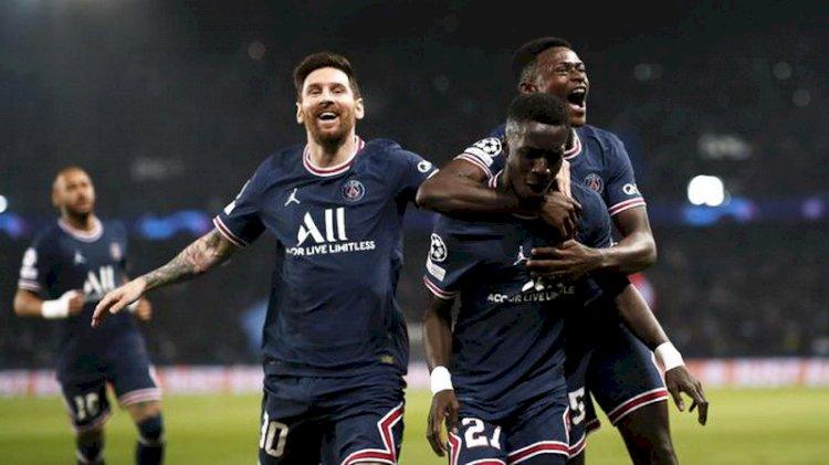 Hasil Lengkap Liga Champions: Messi Bawa PSG Menang atas Man City, Madrid Tumbang