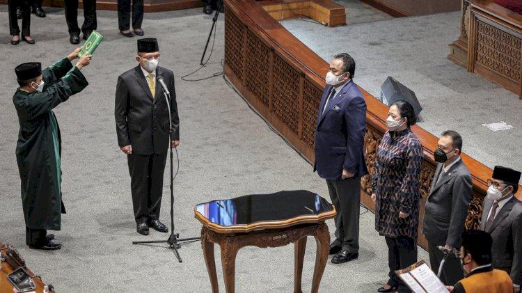 Lodewijk F Paulus Resmi Jadi Wakil Ketua DPR RI Gantikan Azis Syamsuddin