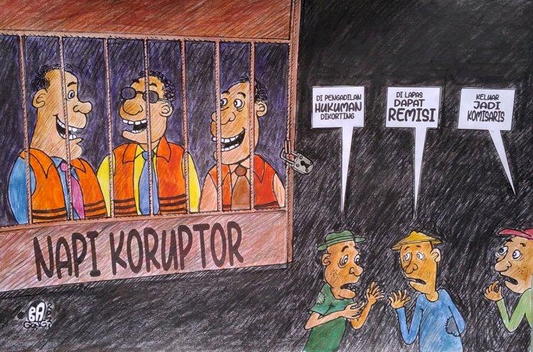 Reaksi KPK Soal Putusan MK yang Menyatakan Napi Koruptor Berhak Dapat Remisi