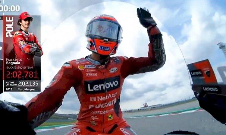 Hasil Kualifikasi MotoGP Amerika: Bagnaia Raih Pole Position