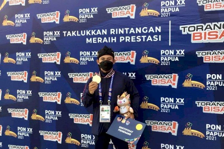 Jawa Barat Boyong Tiga Emas Dayung Slalom PON Papua