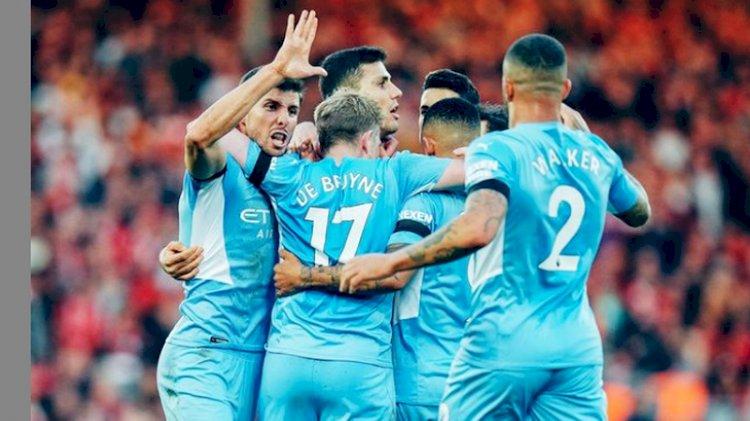 Klasemen Liga Inggris Usai Liverpool Bermain Imbang 2-2 Lawan Man City