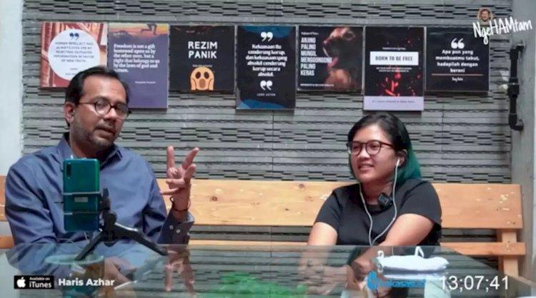 Soal Laporan Luhut Binsar, Polda Metro Periksa Haris Azhar dan Fatia Maulida Pekan Depan