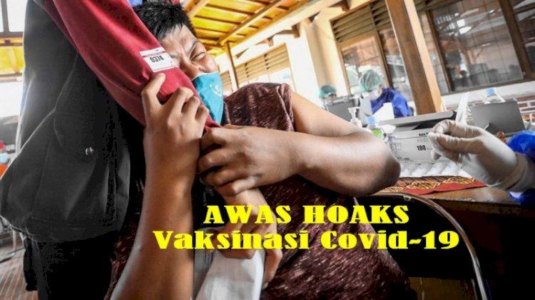 Kemenkes Minta Masyarakat Waspadai Sejumlah Hoaks soal Vaksin Covid-19